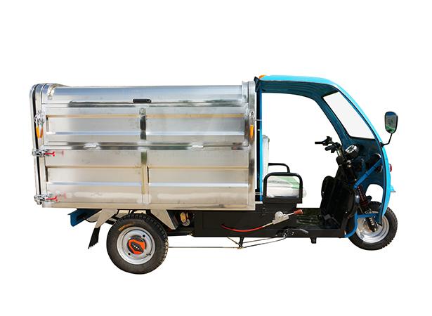 1.8米不锈钢电动垃圾车